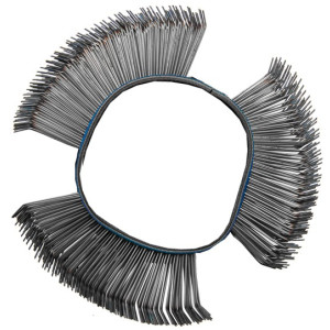 Wire Brush | bent | Ø 103 x 23 x 0.7 mm