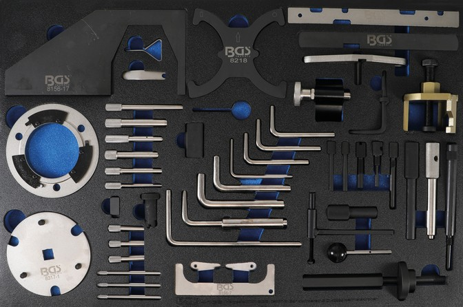Tool Tray 3/3: Engine Timing Tool Set | for Ford, VW, Seat, Mazda, Volvo