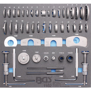 Tool Tray 2/3: Brake Piston Wind Back Set | 50 pcs.