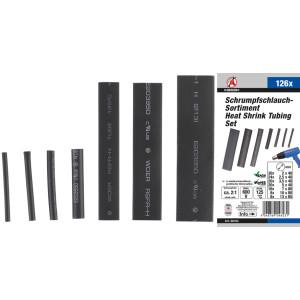 Krympslang-sortiment | svart | 126 delar